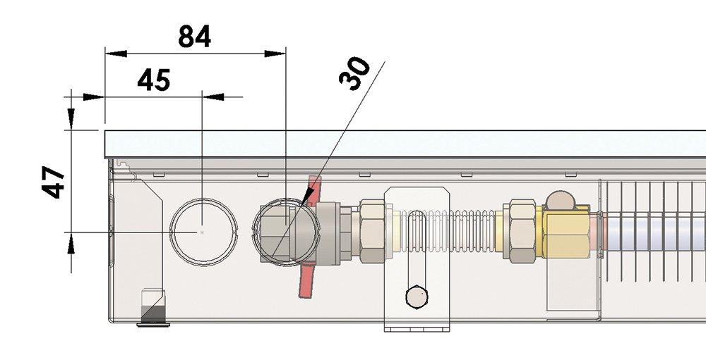 Конвекторы без вентилятора MINIB PB 90