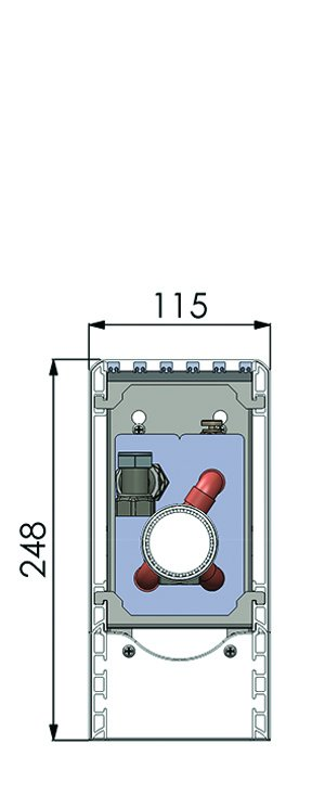 Конвекторы без вентилятора MINIB SUF1