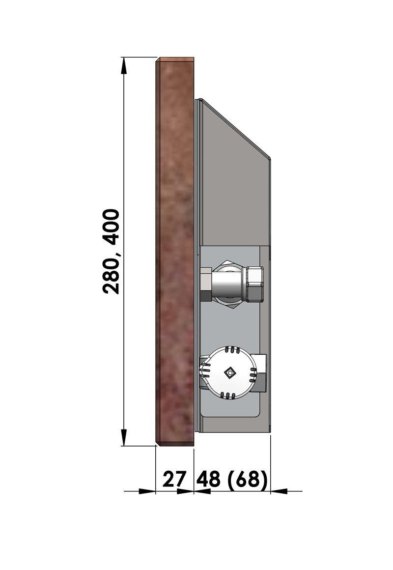 Конвекторы с оригинальным дизайном MINIB DS 280