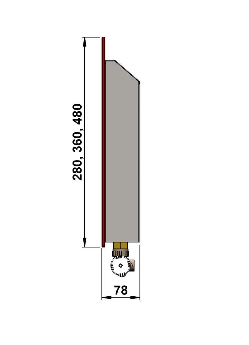 Конвекторы с оригинальным дизайном MINIB GS 280