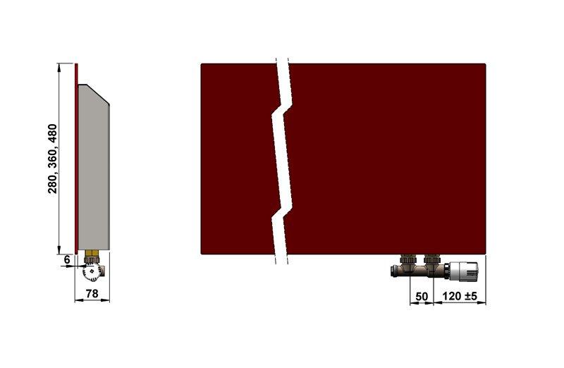 Конвекторы с оригинальным дизайном MINIB GS 480