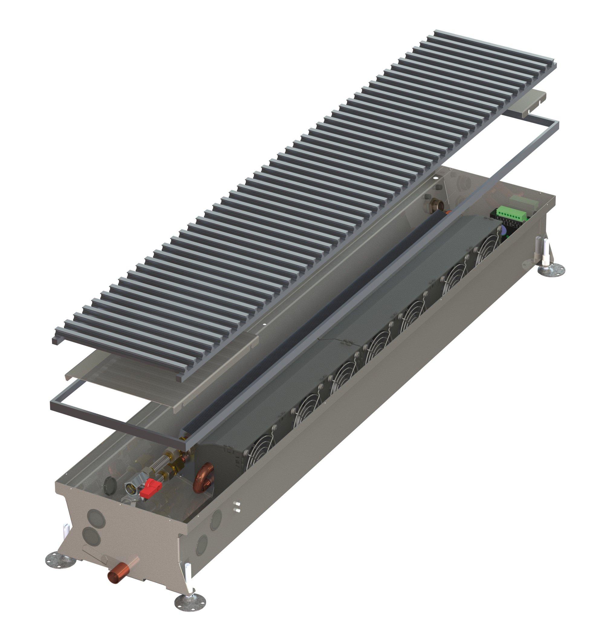Конвекторы с вентилятором MINIB HCA
