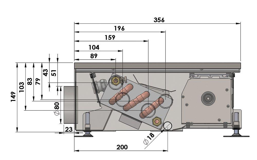 Конвекторы с вентилятором MINIB HCM AIR