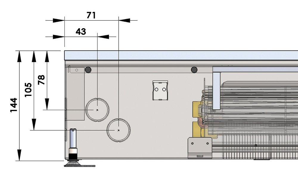 Конвекторы с вентилятором MINIB KTW