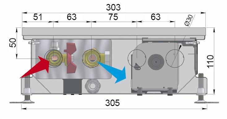 Конвекторы с вентилятором MINIB COIL-KT110