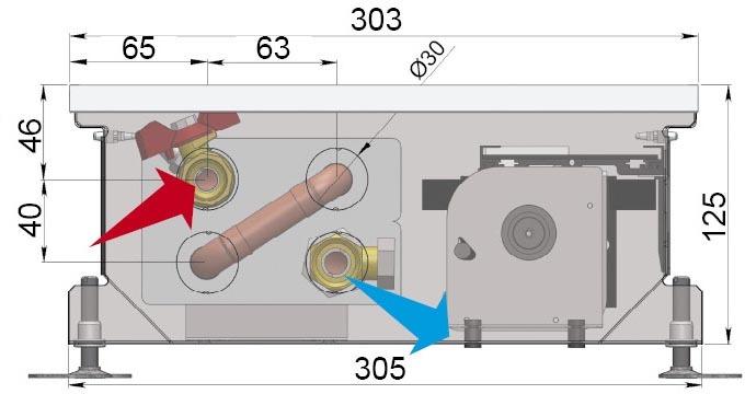 Конвекторы с вентилятором MINIB COIL-MT