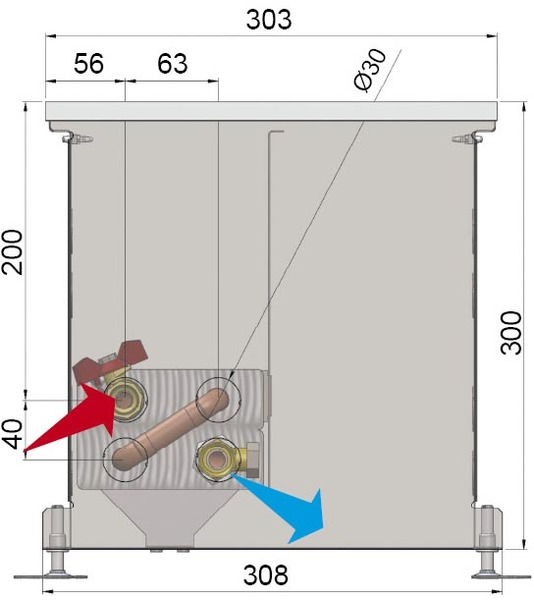 Конвекторы без вентилятора MINIB COIL-PT300