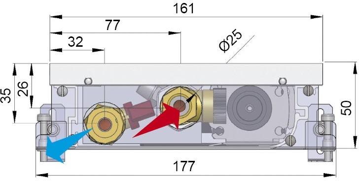 Конвекторы с вентилятором MINIB COIL-T50