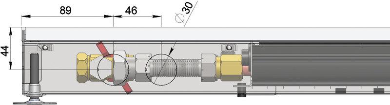 Конвекторы с вентилятором MINIB COIL-T60