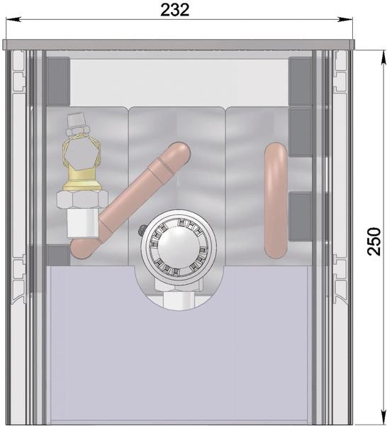 Конвекторы без вентилятора MINIB COIL-SW250