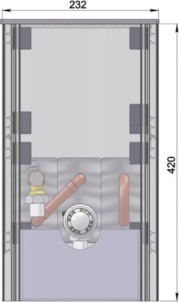 Конвекторы без вентилятора MINIB COIL-SW420
