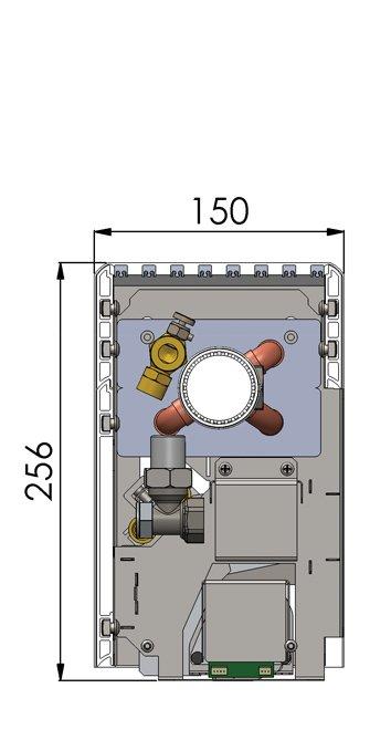 Конвекторы с вентилятором MINIB NKF PTG