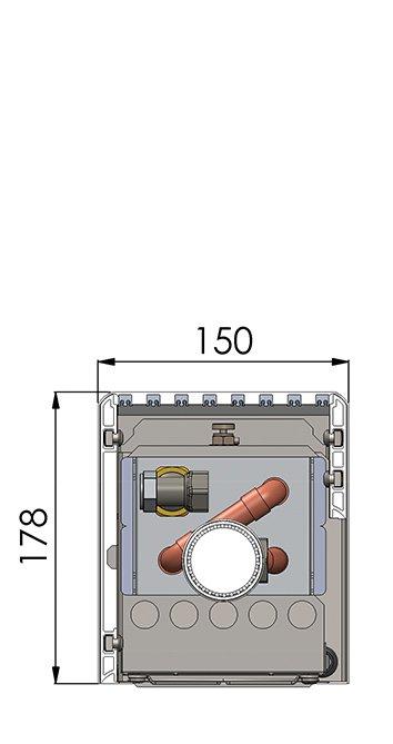 Конвекторы с вентилятором MINIB NKF1