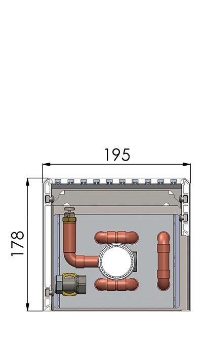 Конвекторы без вентилятора MINIB NMF1