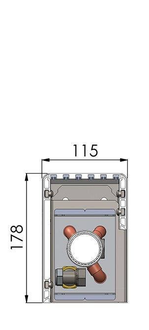 Конвекторы без вентилятора MINIB NUF1