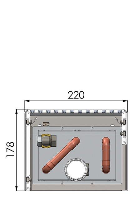 Конвекторы без вентилятора MINIB NWF1