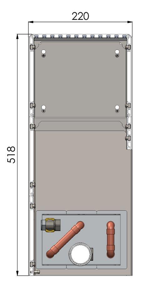 Конвекторы без вентилятора MINIB NWF3