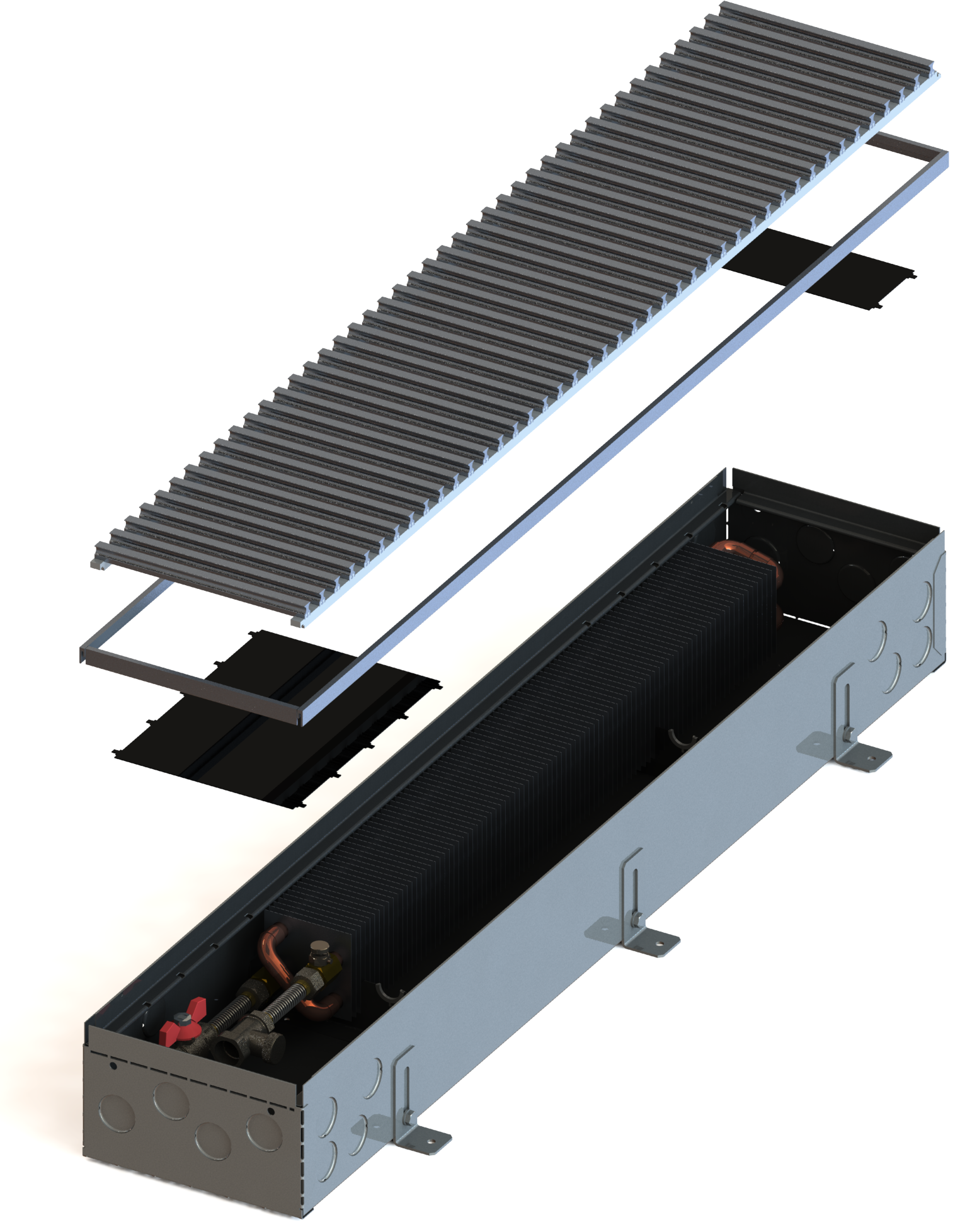 Конвекторы без вентилятора MINIB PB110e