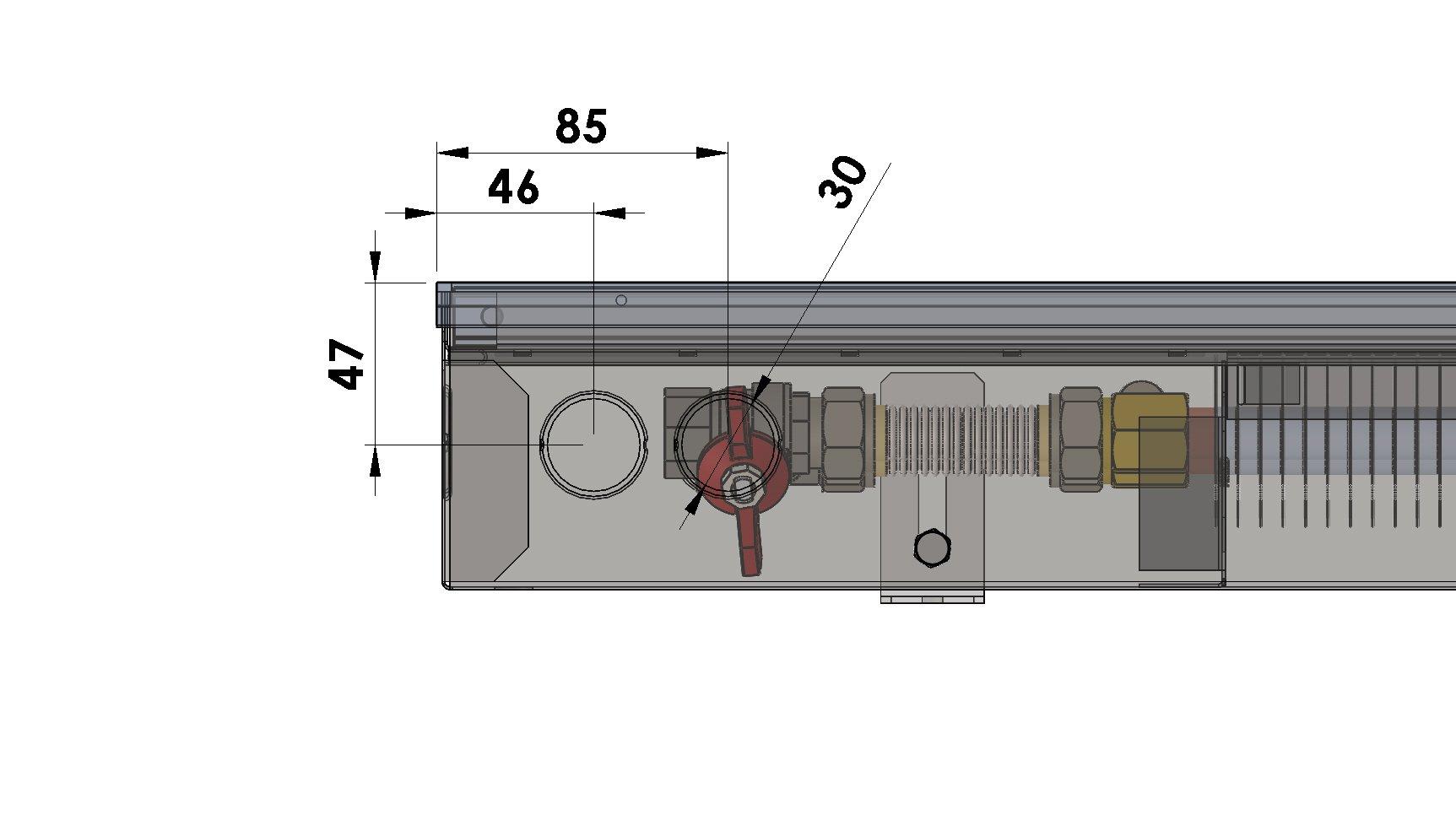Конвекторы без вентилятора MINIB PB90e