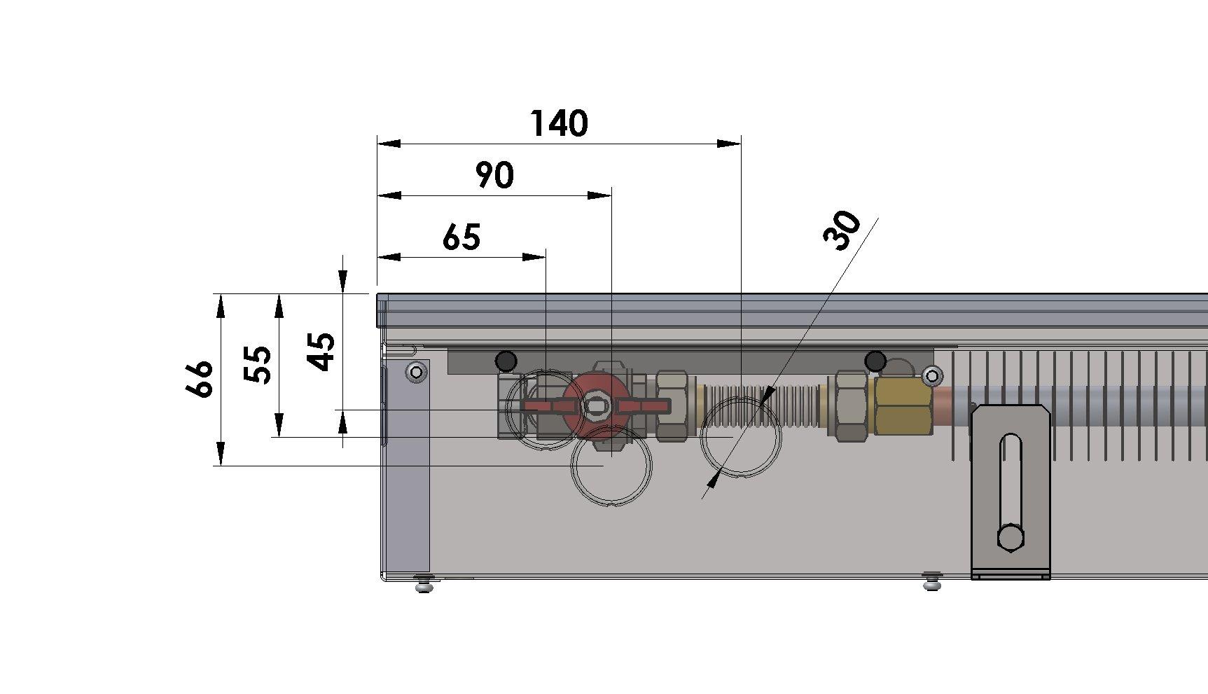 Конвекторы без вентилятора MINIB PM110e