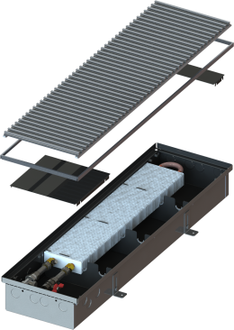 Внутрипольные конвекторы MINIB PM110e