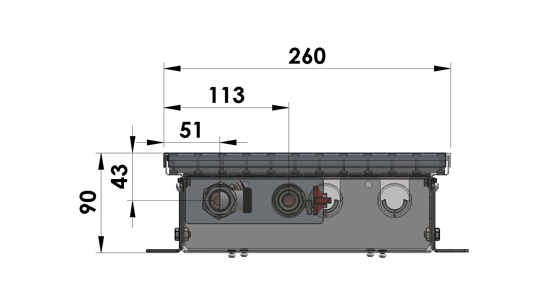 Конвекторы без вентилятора MINIB PM90e