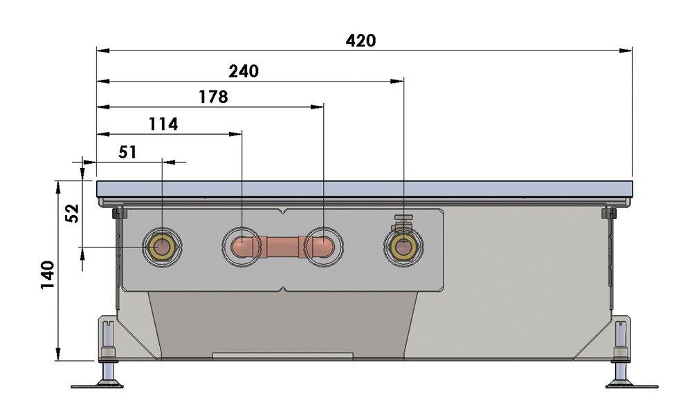 Конвекторы без вентилятора MINIB PMW 140