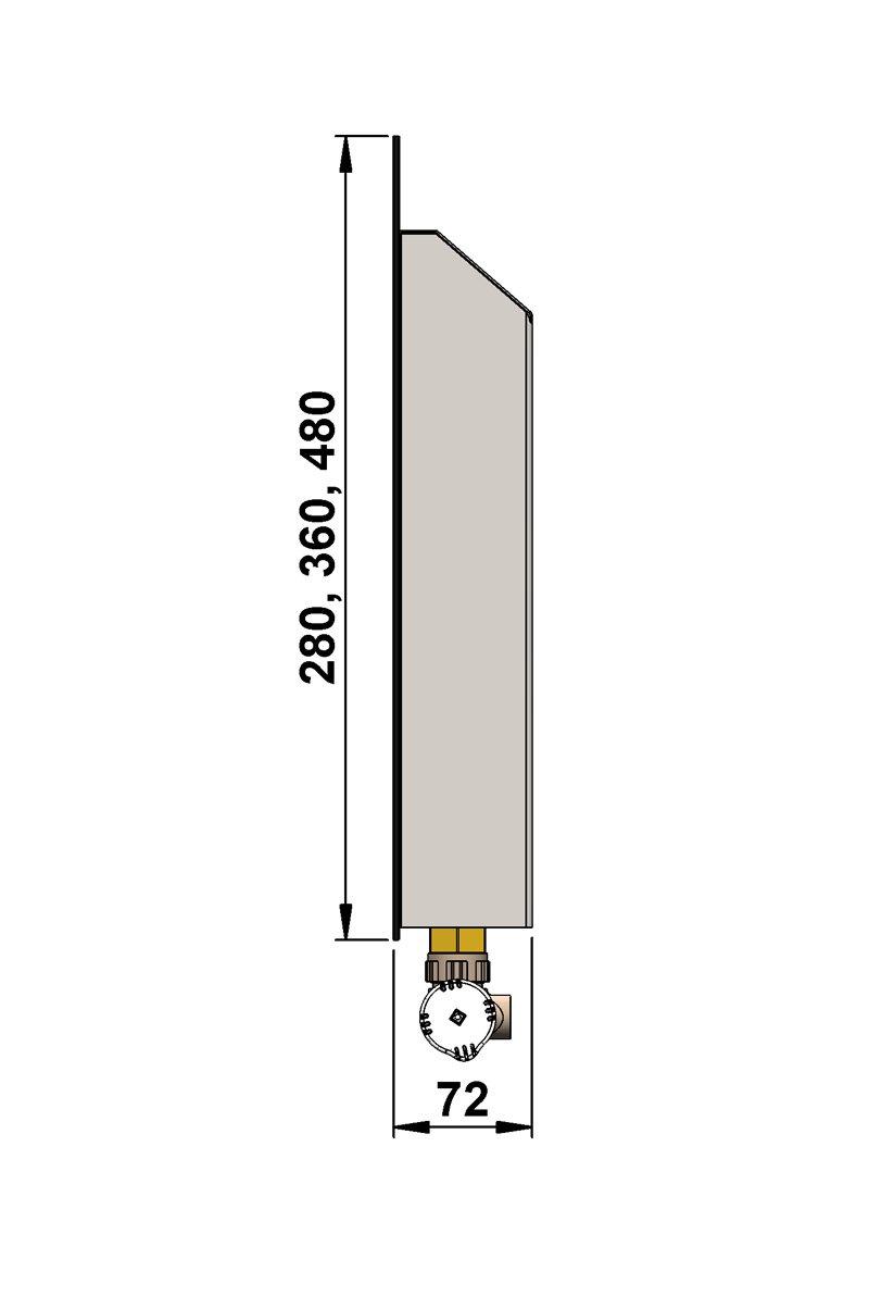 Конвекторы с оригинальным дизайном MINIB PS 480