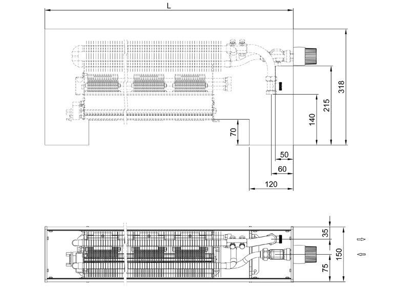 Конвекторы с вентилятором MINIB SKF PTG