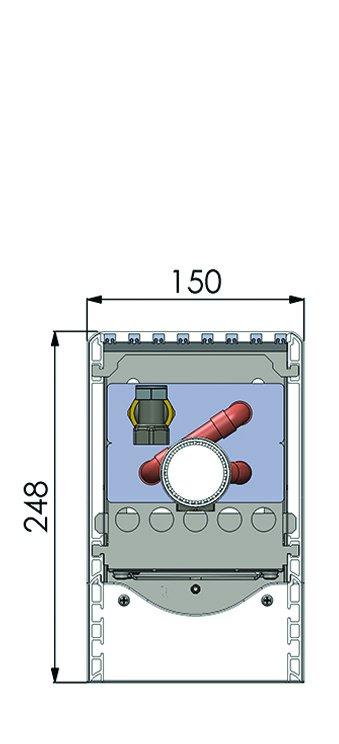 Конвекторы с вентилятором MINIB SKF1