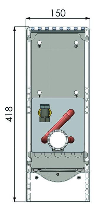 Конвекторы с вентилятором MINIB SKF2