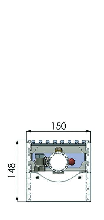 Конвекторы без вентилятора MINIB SPF0