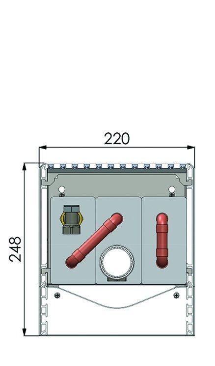 Конвекторы без вентилятора MINIB SWF1