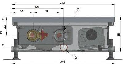 Конвекторы с вентилятором MINIB COIL-TO85